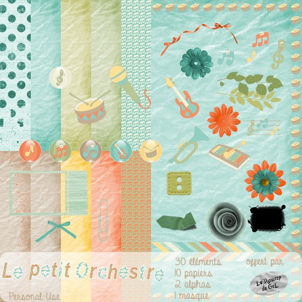 "kit ""Le petit orchestre"" Ga_l_l17"