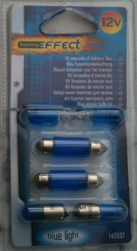 Ampoules bleutées pour l'intérieur Ampoul10