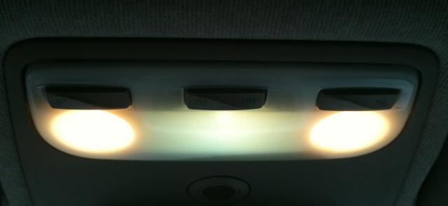 Ampoules bleutées pour l'intérieur Plafon10