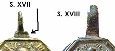Médaille St Anastase - début XVIIIème Siglo10