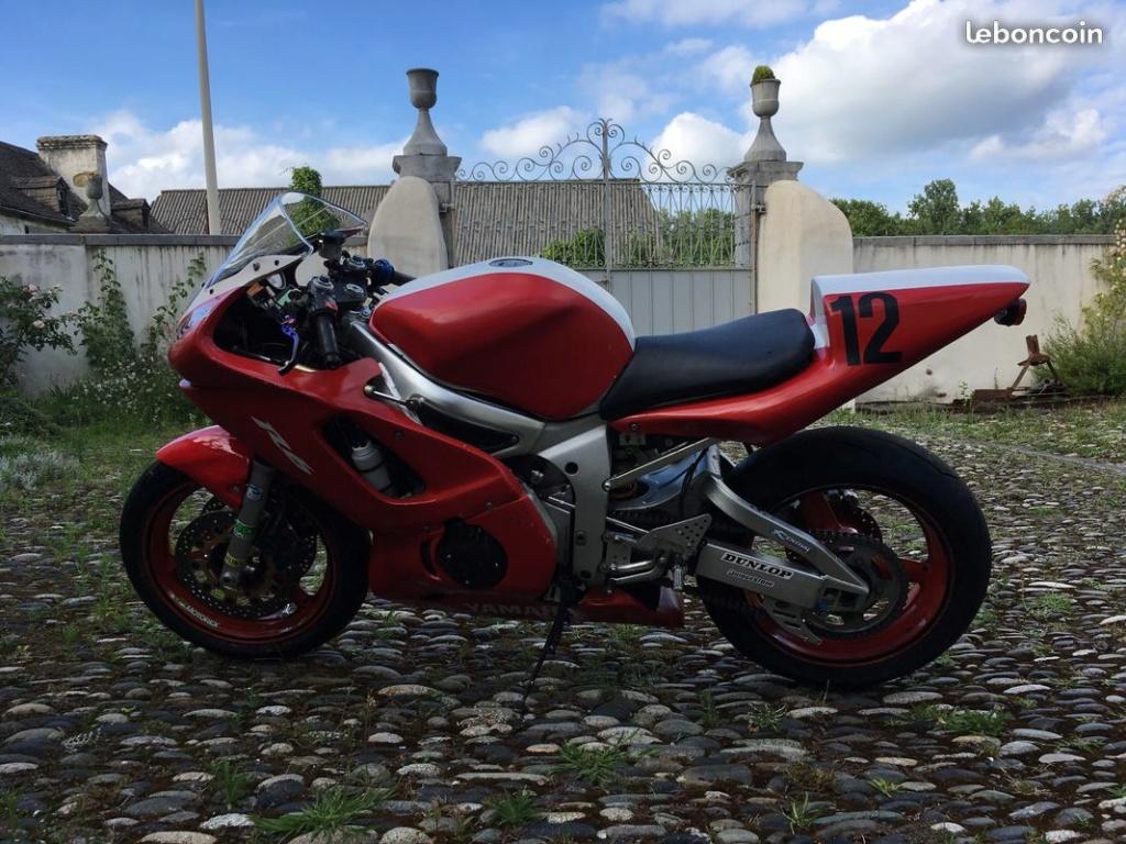 Yamaha yzf R6 2002 2800€ 45500kms R6-110