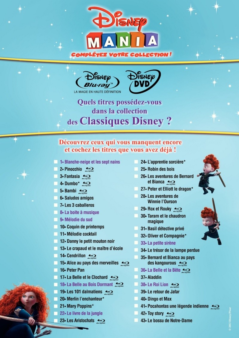 Topic des dvd disney - Disney a imprimer ...