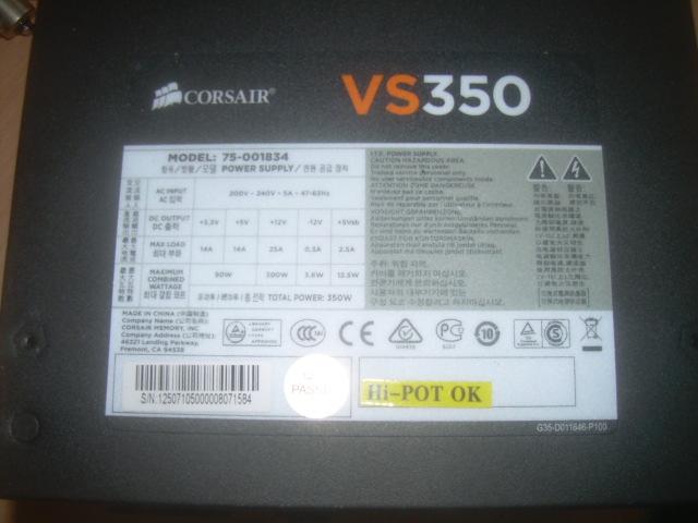 Modifier une alimentation de PC pour alimenter un chargeur en 12 V.  Dscn4928