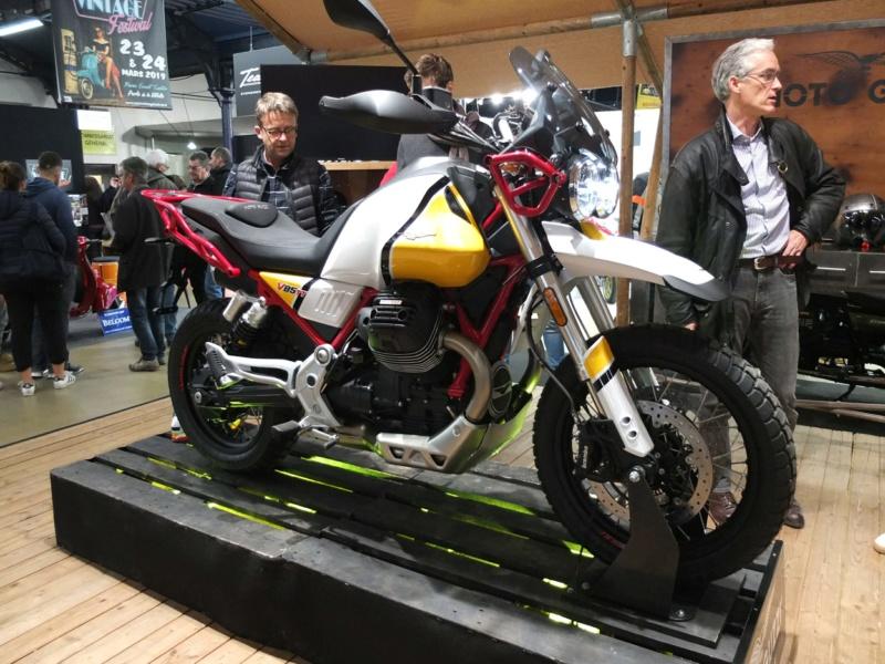 Le retour du trail chez Moto Guzzi : V 85 TT Dscf8071
