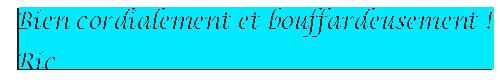 Court poème improvisé Bienc126