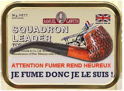 À la Saint-Germain, pour allumer ta pipe n'attends pas demain ! Squadr12
