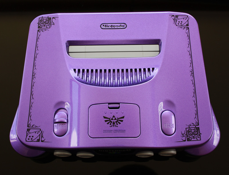 Majora's Mask N64 Console 4-21_z10