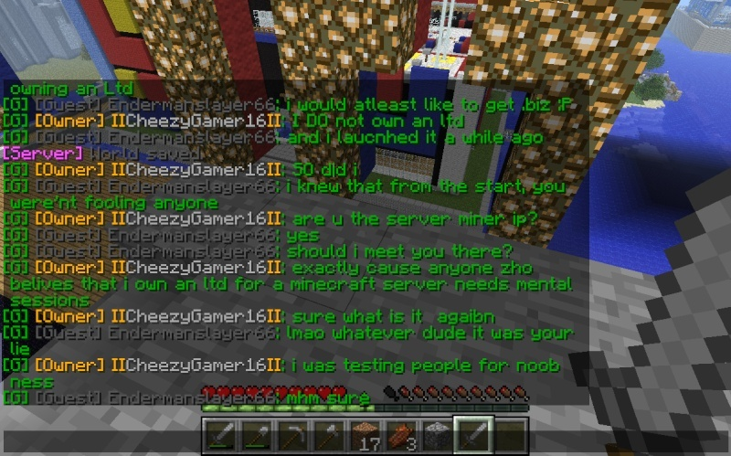 "My conversation with Cheezygamer16 and the ""real"" Econicraft IP 2013-015"