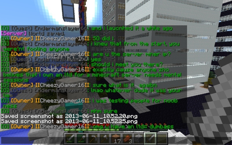 "My conversation with Cheezygamer16 and the ""real"" Econicraft IP 2013-016"