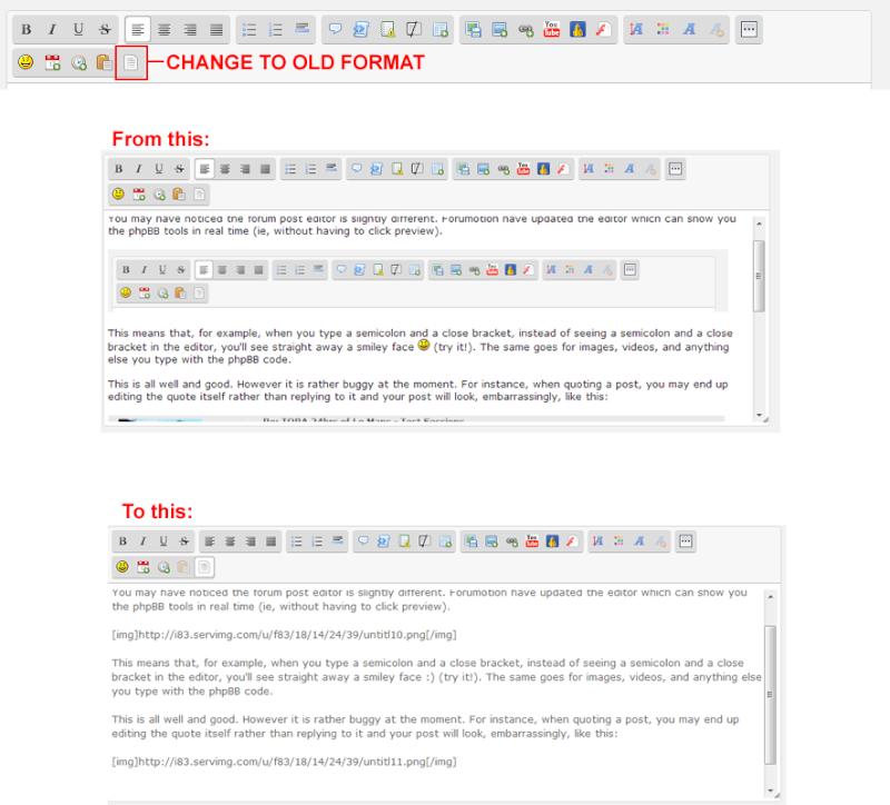 FORUM UPDATE - New Forum Editing Features Untitl12