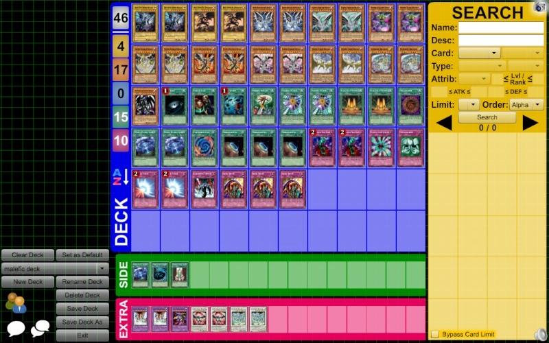 my malefic deck Gqpn7o10