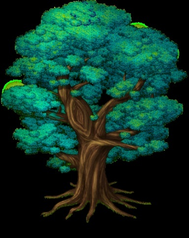Grand arbre bleu Arbre10