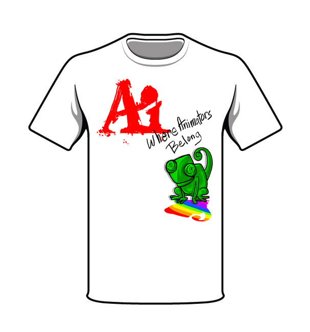 Animation Club T-shirt Contest T-shir10