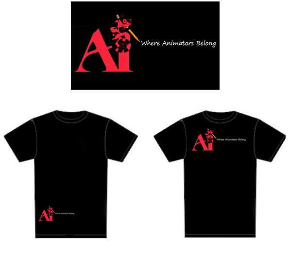 Animation Club T-shirt Contest Tshirt10