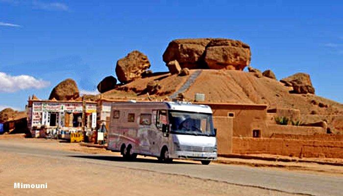 Le Maroc pays d'accueil des campeurs motorisés Mimoun35