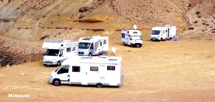 Le Maroc pays d'accueil des campeurs motorisés Mimoun36