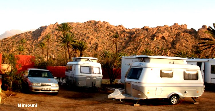 Le Maroc pays d'accueil des campeurs motorisés Mimoun39