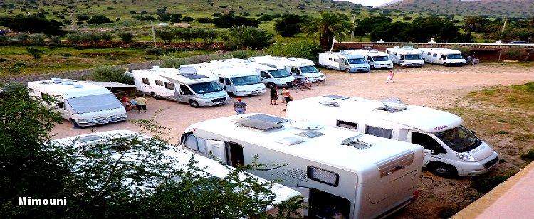 Le Maroc pays d'accueil des campeurs motorisés Mimoun41