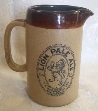 Lion Pale Ale/Cobb & Co Jug was made by Orzel Lion_j10