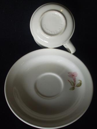 Vine flowers on Cup & Saucer ~ Pandor11
