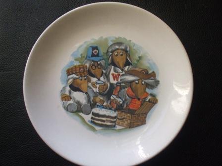 Wombles Plate Womble10