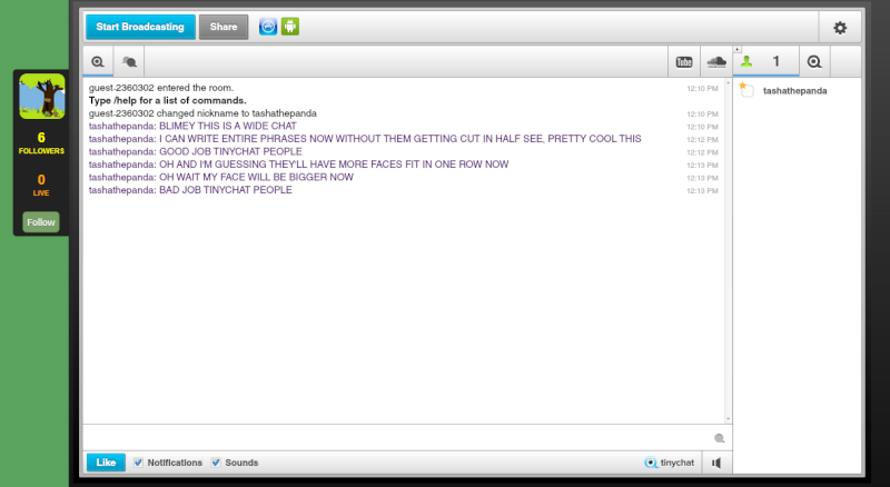 Tiny chat anyone?  Tinych10