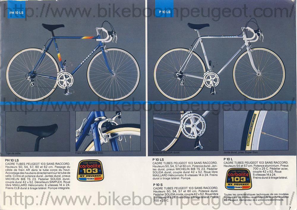 PEUGEOT PH10LS 1984 Peugeo12