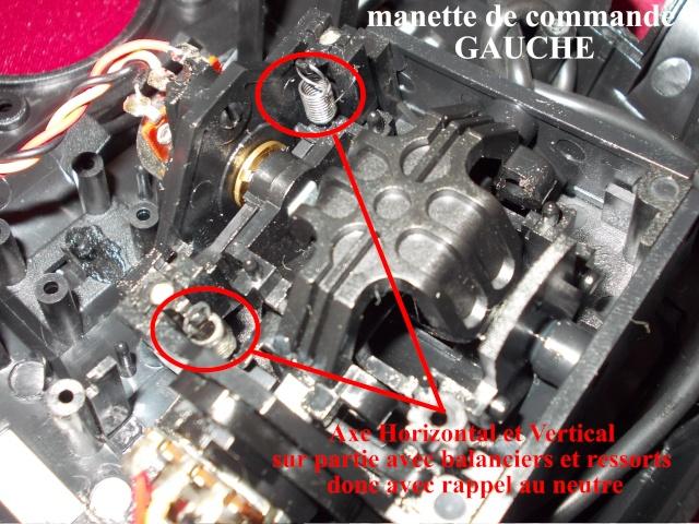 transformer telecommande simulateur MODE1 en MODE2 Manett13