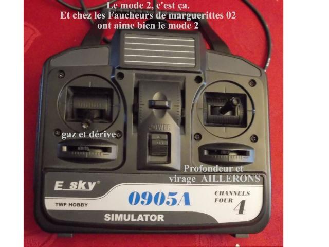 transformer telecommande simulateur MODE1 en MODE2 Teleco11