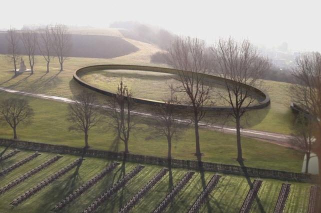 [Enfin visible sur Google Earth] - Mémorial de Notre Dame de Lorette - Ablain Saint Nazaire - France 14-06-13