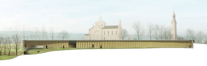 [Enfin visible sur Google Earth] - Mémorial de Notre Dame de Lorette - Ablain Saint Nazaire - France 14-06-15