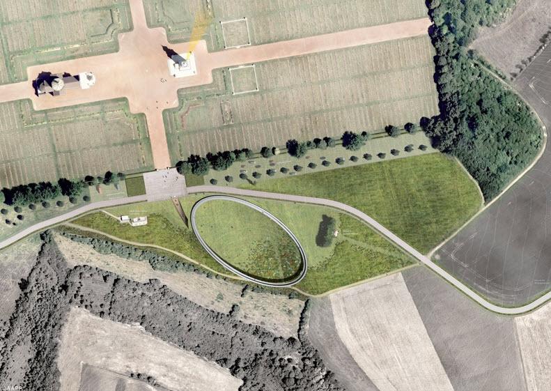 [Enfin visible sur Google Earth] - Mémorial de Notre Dame de Lorette - Ablain Saint Nazaire - France 14-06-17