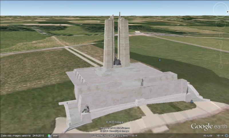 MEMORIAL CANADIEN - Vimy - Pas de Calais - France 3d10