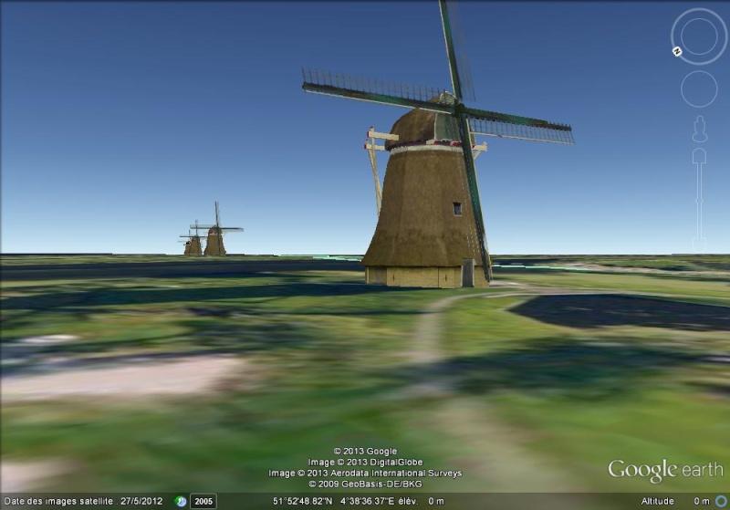 Les moulins de Kinderdijk Ff13