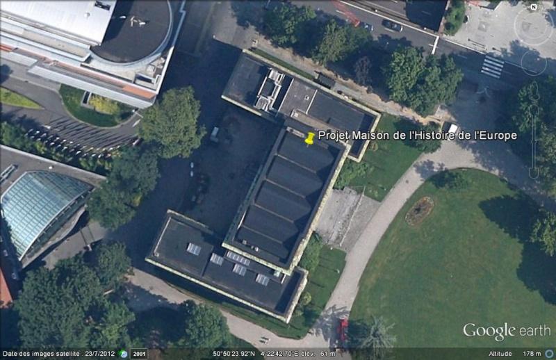 [Bientôt visible sur Google-Earth] Maison de l'Histoire Européenne - Bruxelles. Ge_mai12