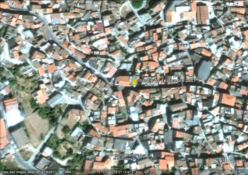 STREET VIEW : Peintures murales de l'île de Sardaigne - Italie. Ge_mur10