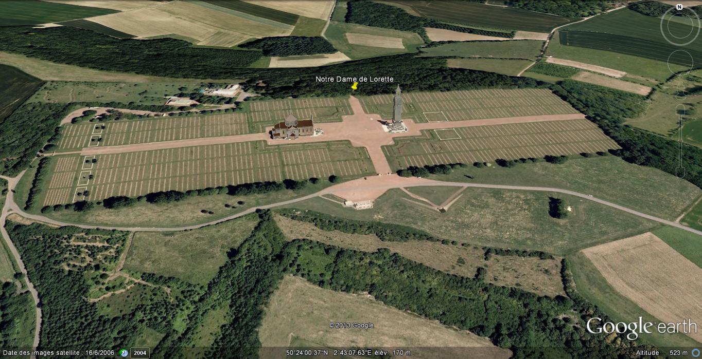 [Enfin visible sur Google Earth] - Mémorial de Notre Dame de Lorette - Ablain Saint Nazaire - France Ge_nd_12