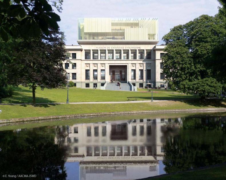 [Bientôt visible sur Google-Earth] Maison de l'Histoire Européenne - Bruxelles. Maison11
