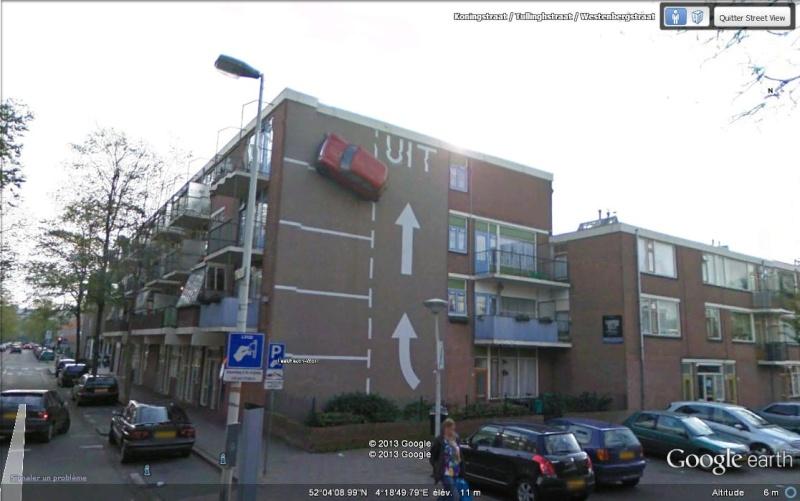 Parking mural à La Haye - Pays-Bas Ssssvv10