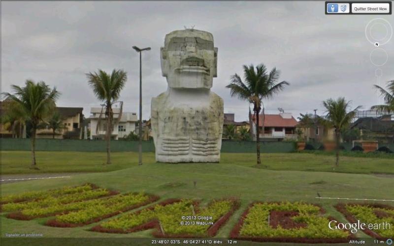 Le Moaï de Sao Paulo - Brésil Sv10