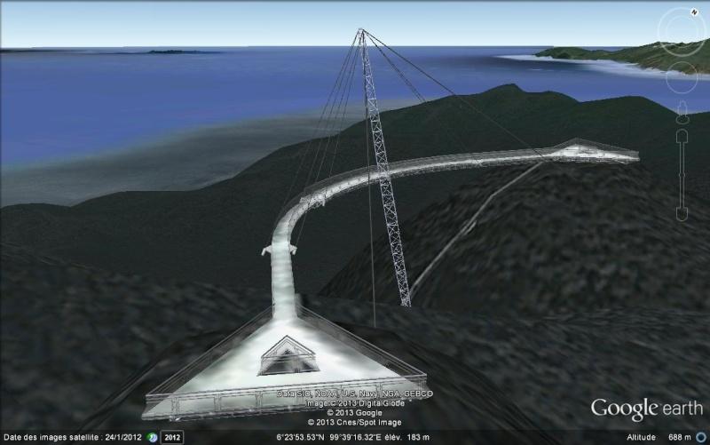 Skybridge, pont belvédère de Langkawi - Malaisie. Svvv12