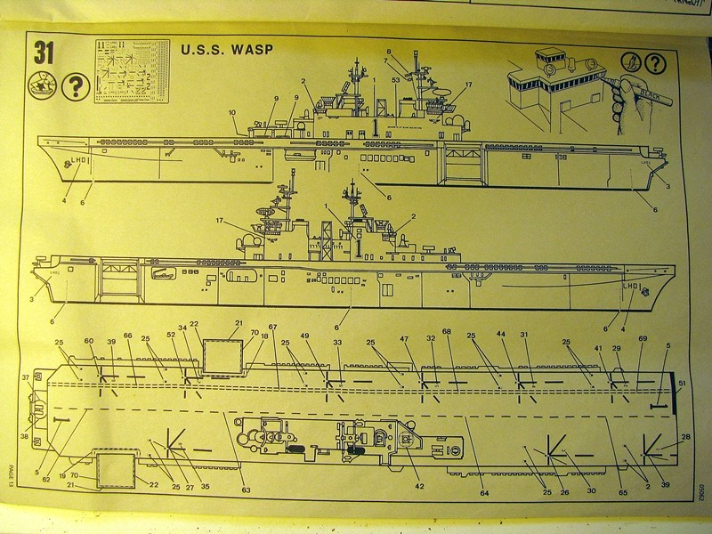 USS Essex 1/700 scale Revell Img_3830