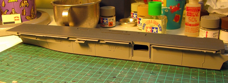 USS Essex 1/700 scale Revell Img_3831