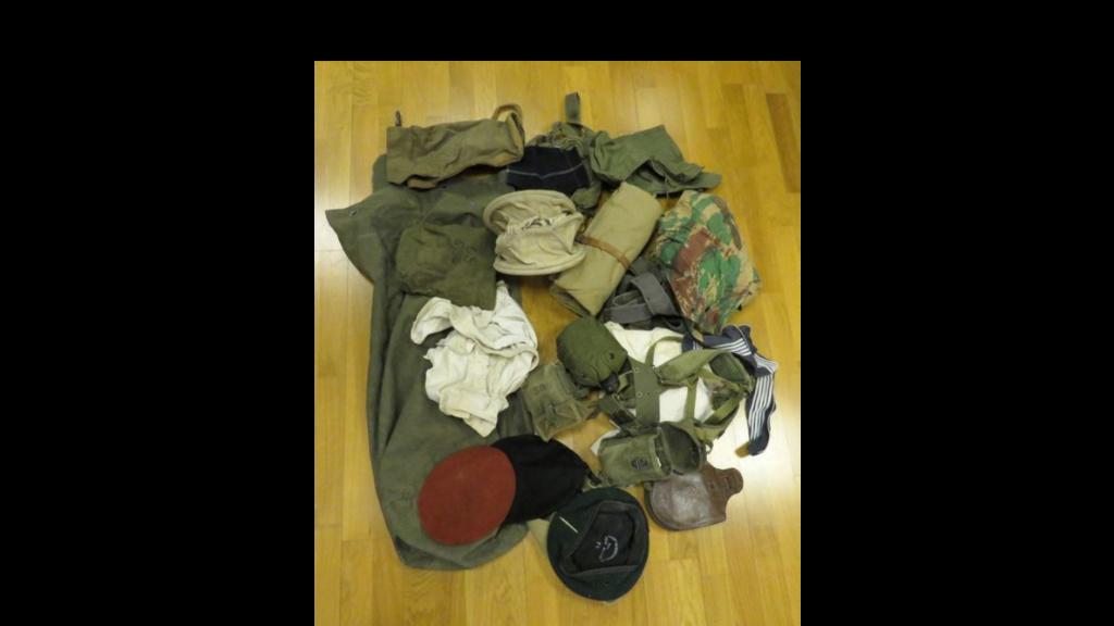 chapeau de brousse beige, insigne argent légion Hussar10