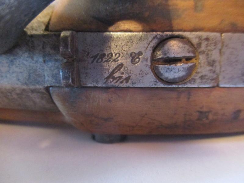 pistolet 1822 T BIS Pist810