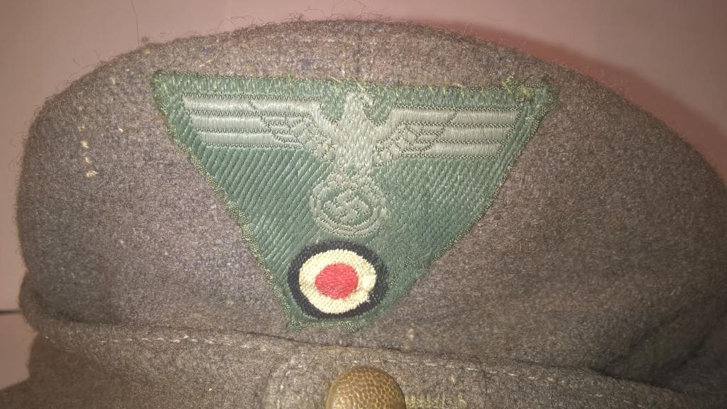 casquette allemande m43 Wp_20207