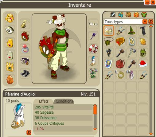 Rasgado Pandawa multi éléments niveau 150 Stuff11