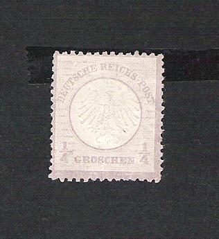 Deutsches Reich 1872 bis 1874 - Brustschildausgaben Dr110