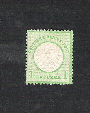Deutsches Reich 1872 bis 1874 - Brustschildausgaben Dr23a10
