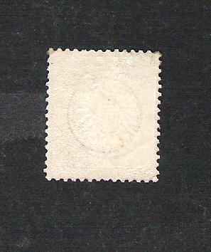 Deutsches Reich 1872 bis 1874 - Brustschildausgaben Dr30pf11